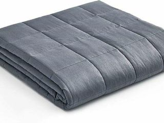 YNW WEIGHTED BlANKET 15 lBS   QUEEN