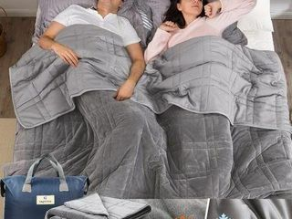 OMYYSTYlE WEIGHTED BlANKET DOUBlE SIDED