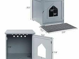 UNIVERSE HOUSE UNIPAW CAT lITTER BOX