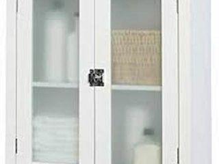 ZENNA HOME E8818WW ClASSIC WAll CABINET