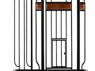 CARlSON EXTRA WIDE WAlK THROUGH PET GATE