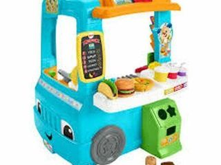 FISHER PRICE SERVIN UP FUN FOOD TRUCK