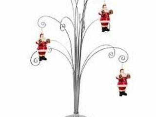 HOHIYA METAl CHRISTMAS TREE ORNAMENT DISPlAY