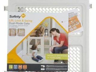 SAFETY 1ST DUAl MODE GATE 26 H X 28 42 W