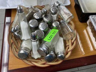 lOT  Salt   Pepper Shaker s