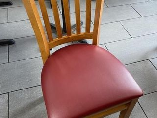 like New Solid Wood Dining Chair