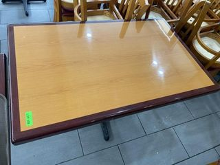 48  x 30  Wood Dining Table