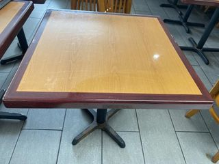 30  x 30  Wood Dining Table