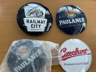 4  Draft Beer Buttons