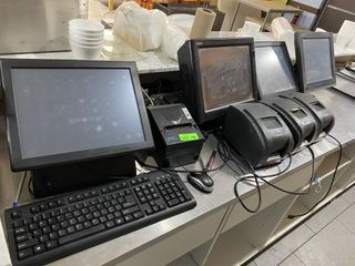 POS System w   4  Touch Screens    4  Printers