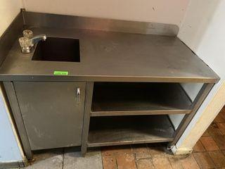 S S Table w  Hand Sink   U C Storage