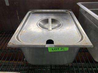 1 2 Size x 6  Deep S S Steam Pan Insert