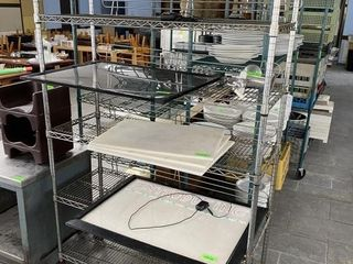 6 Tier Portable Dry Storage Metro Shelf