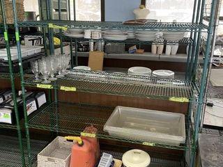 4 Tier Freezer Safe Metro Shelf on Wheels