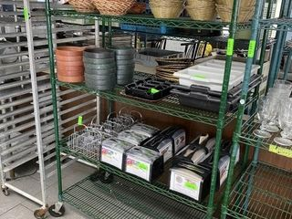 5 Tier Freezer Safe Metro Shelf on Wheels