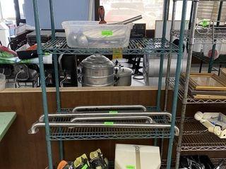 3 Tier Freezer Safe Metro Shelf on Wheels