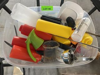 TOTE lOT  Squeeze Bottles  Can Openers  Etc