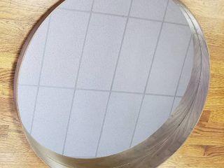 Stockholm Round Mirror by IKEA   31 in  diameter