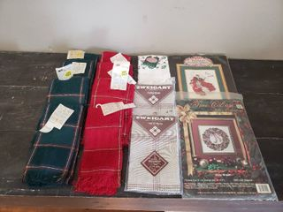 Hand Towels  Breadcovers and Kits for Cross Stitch and Emboidery
