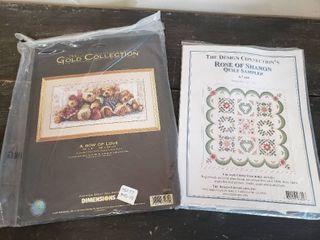 2  Cross Stitch Kits