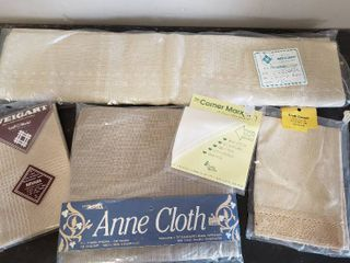 Cross Stitch Fabric for Afghans  Pillows and More