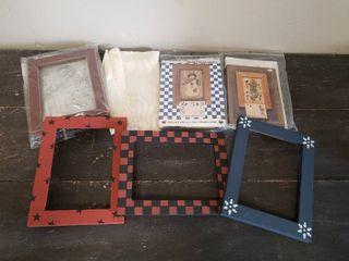Cross Stitch Kits  Frames and Fabric