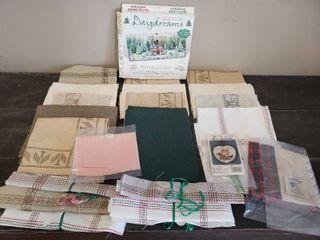 Cross Stitch Fabrics and Kits