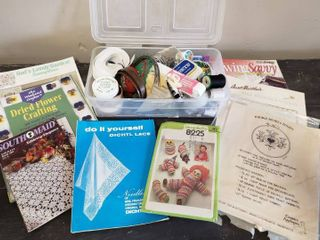 Sewing Patterns and Random Sewing Supplies