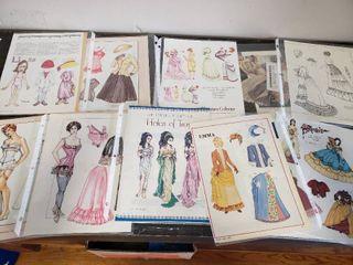 Magazine Paper Dolls  Women Through The Years