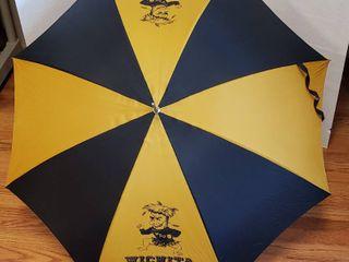 Vintage WSU Nylon Umbrella   40 in  span