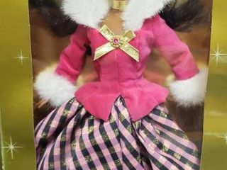 1996 Winter Rhapsody Barbie Doll   12 in  tall