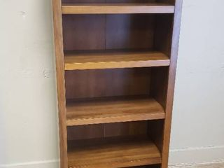 Bookcase with 5 Adjustable Shelves 24 in  x 60 in  x 13 in