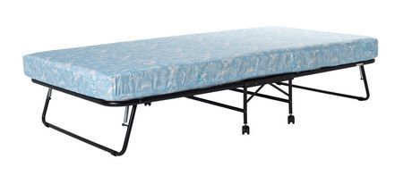 DHP Folding Guest Bed with 5  Mattress GREENGUARD GOlD Certified  Twin