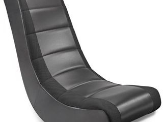 Video Rocker Gaming Chair Black   The Crew Furniture