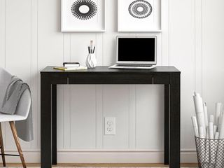 Mainstays Parsons Desk  Black Oak