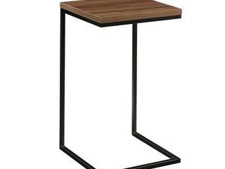 Mainstays Side C Table  Canyon Walnut Finish