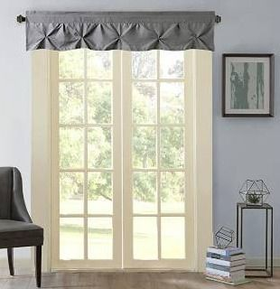 Sweet Home Collection Pinch Pleat Kitchen Curtain Window Valance