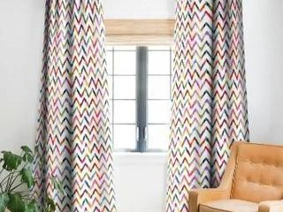 Stephanie Corfee No Ziggity Blackout Curtain Panel  Set of 2