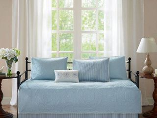 Blue Natalie Daybed Set  75x39  6pc