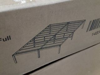 14 Inch Platform Steel Bed Frame Full