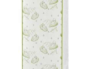 Dream On Me Baby Trend Nursery Center Breathable Two Sided 3 in Foam mattress with Square Corner