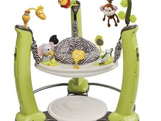 Evenflo ExerSaucer Jump   learn Stationary Jumper   Jungle Quest