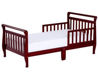 Dream On Me Classic Sleigh Toddler Bed  Cherry