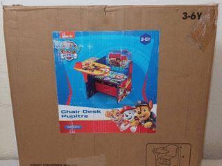 Disney PAW Patrol Chair Desk with Storage Bin  Delta Children