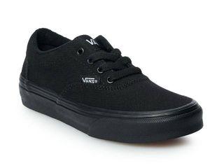 Vans Doheny Kids  Skate Shoes  Boy s  Size  4  Black