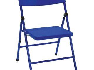 Kids Pinch   Free Folding Chair   Blue  Set of 4    Cosco