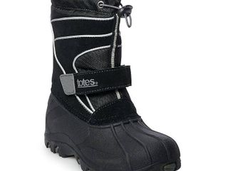 totes Todd Boys  Winter Boots  Boy s  Size  3  Black