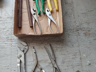 Assorted Pliers and Snips