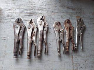 6 Pair locking Pliers