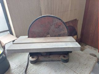 12 in Disc Sander   Missing Switch